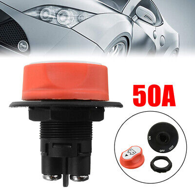 Boat truck On / Off Battery Master Disconnect Rotary Cut Off Isolator Switch