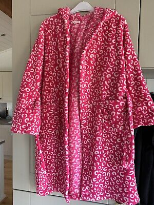 Girls Bluezoo By Debenhams Dressing Gown Age 8-9 Hooded