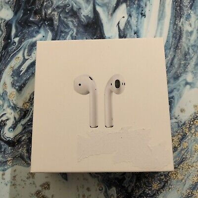 Apple AirPods 2nd Generation with Wireless Charging Case - BRAND NEW White