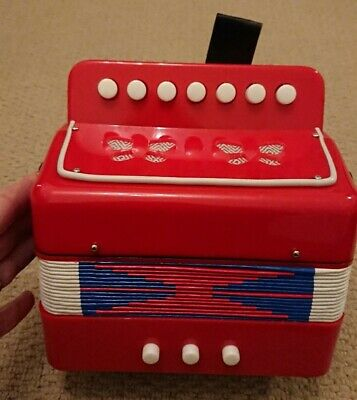 Children's Accordion Squeeze Box Musical Instrument Toy