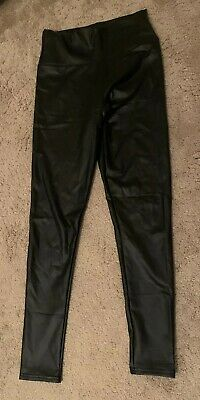 Ladies Wet Look Leggings Size S/m New  Without Tags