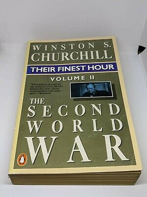 Winston Churchill Their Finest Hour The Second World War Volume 2 Book 1987