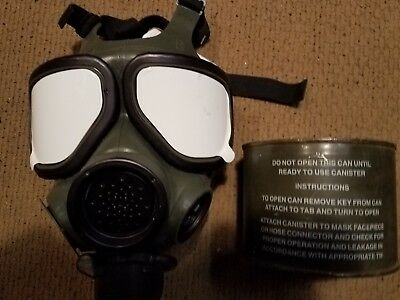 Military mask m 40 small new with new filter