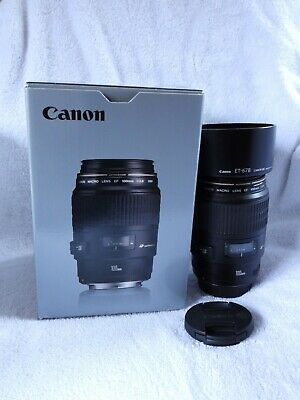 CANON EF 100mm 2.8 MACRO  USM. EXCELLENT