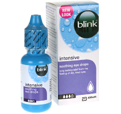 3XBlink Intensive Soothing Eye Drops - Long Lasting Relief From Dry & Tired Eyes