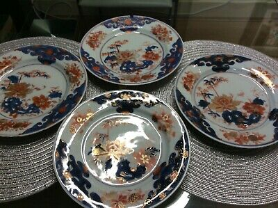 Set of 4 rare Chinese plates - Ming period