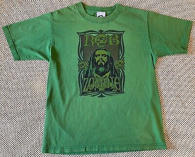 Rob Zombie 2006 Demonoia Deluxe, LTD green youth Large