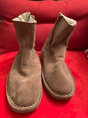 Cotton Traders Ladies Mink Coloured Suede Boots Size 7