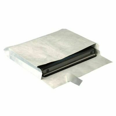 """100 Tyvek Open-Side Envelope, Plain,12""""x16""""x2"""", White MADE USA BY PRIORITY MAIL"""