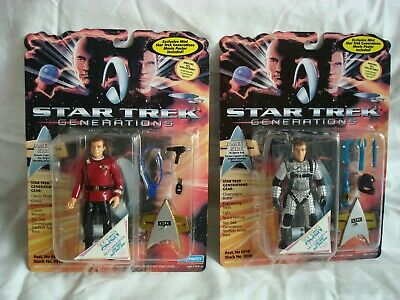 Star Trek Generations Figures Individually Numbered and In Original Boxes