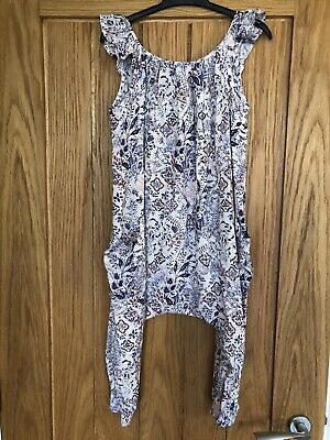 Girls Next All In One Floral Jumpsuit Size Age 6 Years
