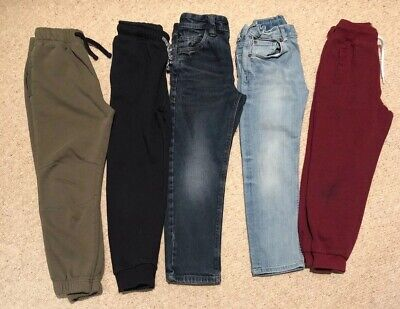 Boys Jeans And Joggers 6-7 Years. 5 Pairs