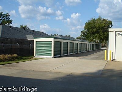 DURO Steel Portable Storage 20x10x8.5 Metal Prefab Building Kit Structure DiRECT