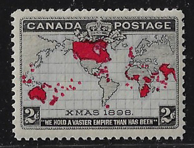 Canada Stamps — 1898, Imperial Penny Postage Issue 2ȼ #85 MH — Lot 20621