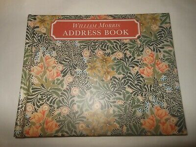 Vintage WILLIAM MORRIS Address and Telephone Book Untouched Within