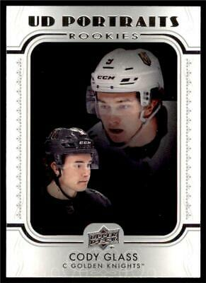 2019-20 Series 2 UD Portraits Rookie #P-93 Cody Glass