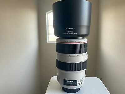 Canon 70-300mm F/4-5.6 L IS USM EF Mount Lens - Please read