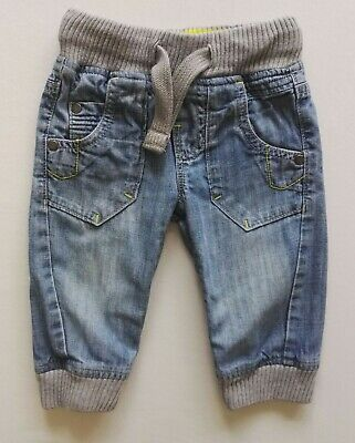 Baby boys 6-9 months denim/jeans trousers hardly worn by NEXT