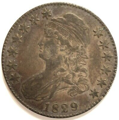 1829-P Capped Bust Half Dollar - Excellent Condition