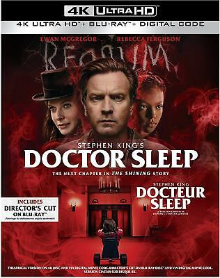 Doctor Sleep 4K ULTRA HD BLU-RAY + DIGITAL + SLIPCOVER Brand New & Sealed!