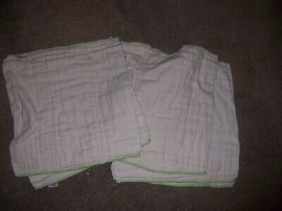 Cloth Eez cloth diapers prefold size  Novice 5 diapers  box5