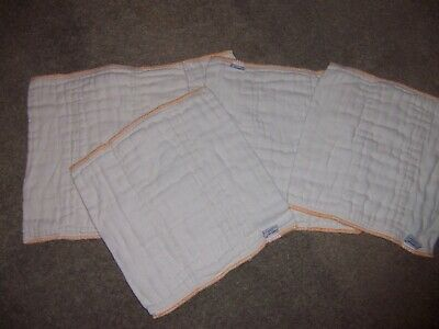 Cloth Eez cloth diapers prefold size  Newborn 5 diapers  box5