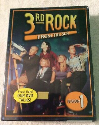 3rd Rock From The Sun , Season 1 . 4 Disc Set, DVD  Sealed, Brand New,