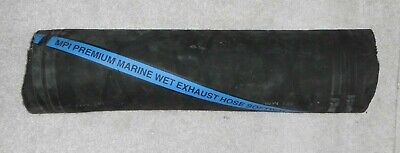 """3/"""" ID  Marine  Wet Exhaust Hose Softwall Premium MPI Brand PER INCH NO WIRE"""