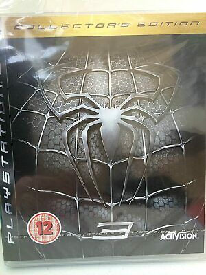 Spider Man 3 Collectors Edition PS3 PlayStation 3 Video Game Mint Condition