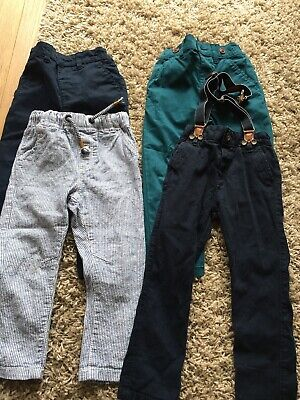 4 Pairs Of Baby Boys Next & Matalan Trouser Bundle Age 1.5-2 Years