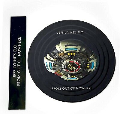Jeff Lynne's Elo - From Out Of Nowhere - Limited Picture Disc Vinyl Lp. New.