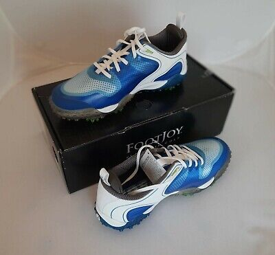 Golfschuhe FOOTJOY  FJ  Freestyle Men - White-Blue - 40 - 5734K
