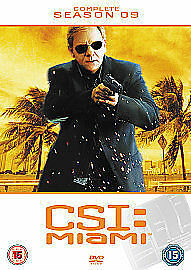 CSI MIAMI COMPLETE SERIES 9 DVD C.S.I. Ninth 9th Season Nine Nineth Original UK
