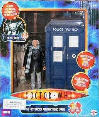 Vintage Doctor Who action figure-The First Doctor & Electronic Tardis