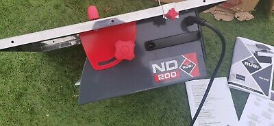 Rubi Diamant ND 200 Electric Tile Cutter Wet Saw 110v - 45916