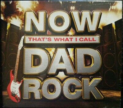 NOW That's What I Call DAD Rock (Digipack 3CD Album) New & Sealed