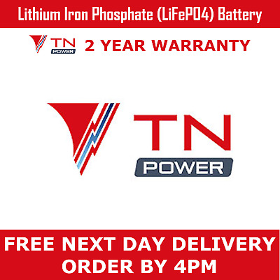 TN Power 12V 9Ah Lithium Leisure Battery for Golf & Mobility