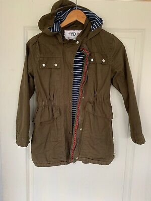 YD Coat Age 10-11 Years Olive Green Girls Jacket