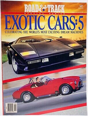 Road & Track - Exotic Cars Part 5 July 1987 - Special Series Sports Car Magazine