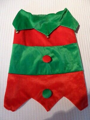 PETCO Dog Vest Costume Holiday Christmas Red/Green