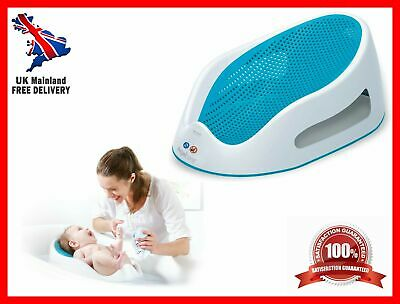Angelcare Soft Touch Bath Support Baby Bath Seat Lightweight Aqua Comfort Safety