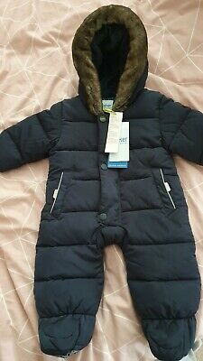 Ted Baker Baby Boys Snowsuit Age 0-3 Months