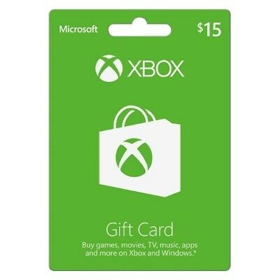 Incomm Digital Solutions 336280 Xbox $15 Gift Card (Preloaded)