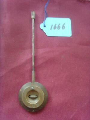 pen#1666 french clock pendulum 135mm max length,  clock parts