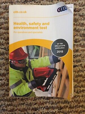 Health, Safety and Environment Test Book for Operatives and Specialist by Citb
