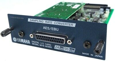 YAMAHA MY8-AE96S AES IO Card with Sample Rate Conversion 02R96 LS9 DM 1000 2000