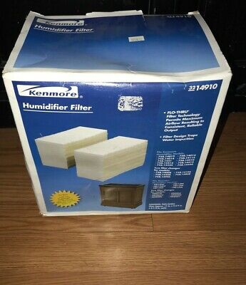 NEW IN BOX Kenmore 14910 Replacement Humidifier Whole House Filter 2 filters