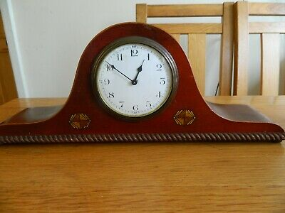 A Nice Small French 8 Day Napoleon  Fixed Key Mantle Clock.