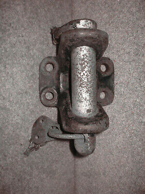 Tow / Towing Jaw & Pin, 5 Ton/Tonne? Bolt Heavy Duty Type? Hgv? Land Rover? Used