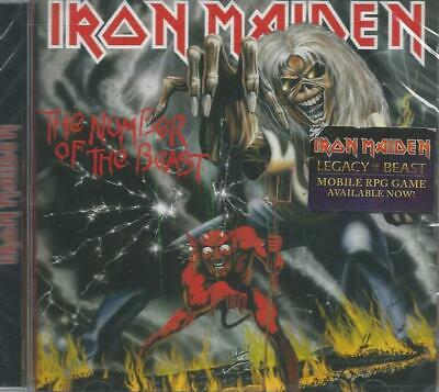 IRON MAIDEN The Number of The Beast CD SEALED